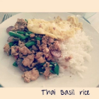 Thai Basil Rice - Thai Vegetarian