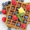 Hearty Pandan Waffles - Singapore-Style (Gluten Free)