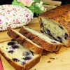 Wholemeal Blueberry Loaf Cake
