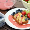 Grilled Butter Cake with Fresh Strawberry Sauce | Summer Party Series