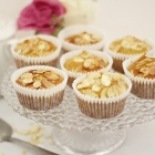 Low-Fat Almond Muffins