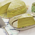 Matcha Mille Crepe Cake (抹茶ミルクレープの作り方)