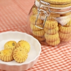 Salted Egg Yolk Cookies - Chinese New Year