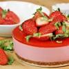 Strawberry Cheesecake ストロベリーチーズケーキ - Japanese-Inspired