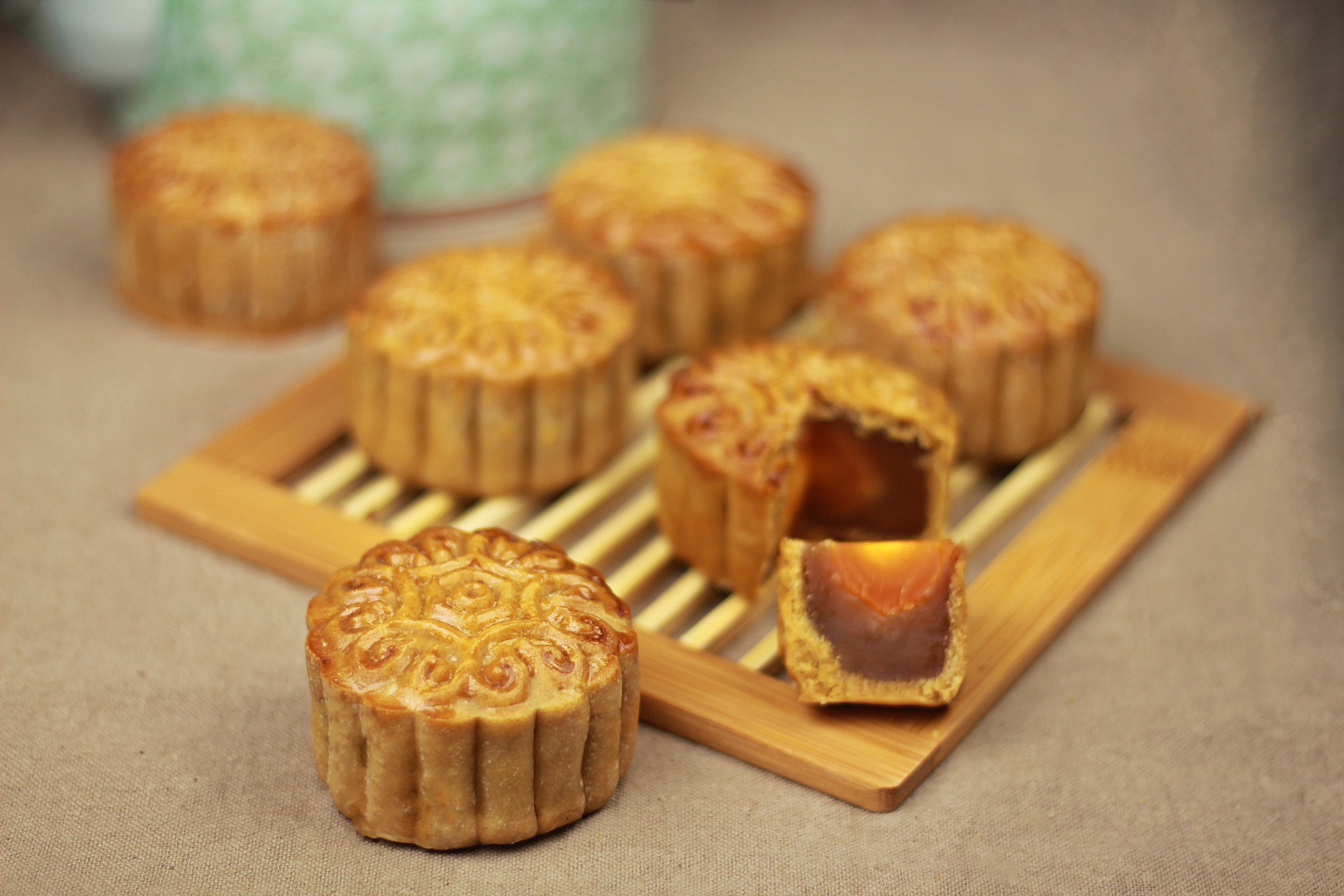 Traditional Mooncakes 月饼