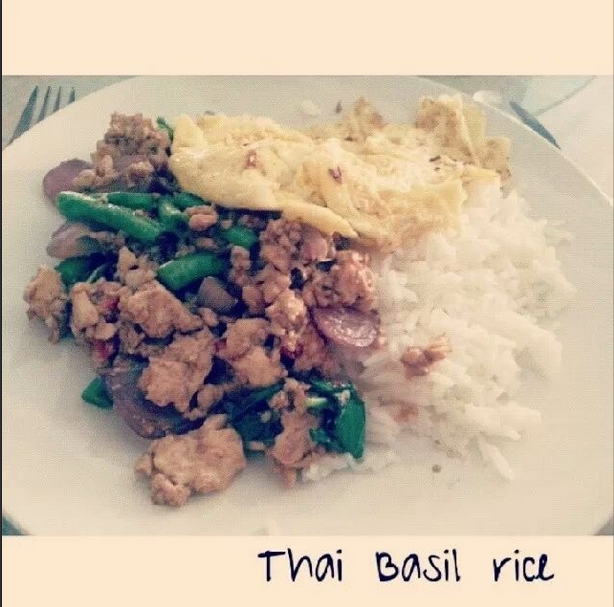 Thai Basil Rice Veg
