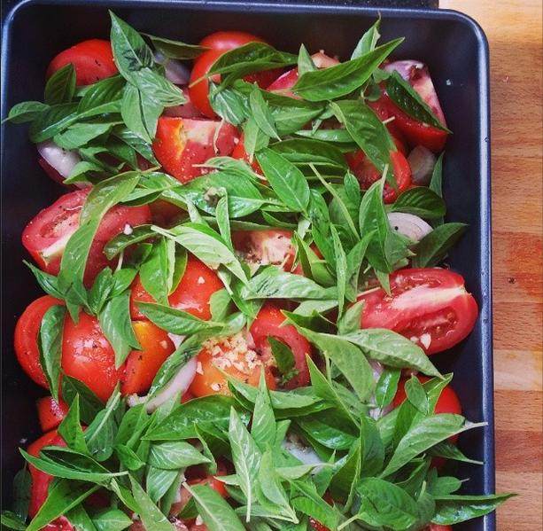 Tomato soup before