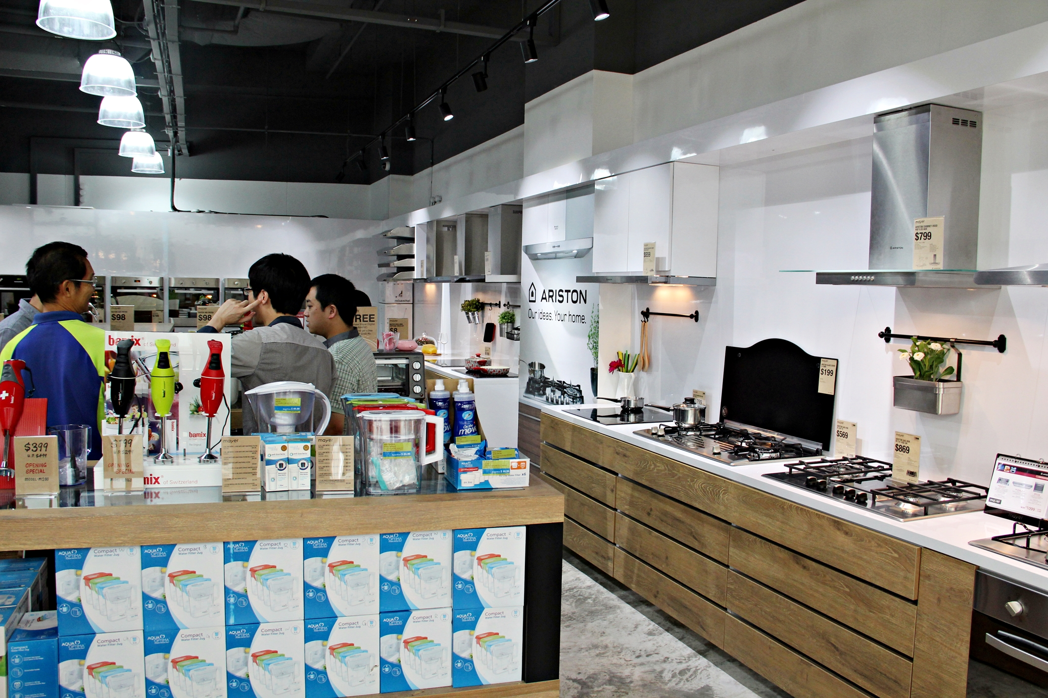 Uncategorized Kitchen Appliance Showroom mayer new showroom at aperia mall upon entering you can really see a wide variety of kitchen appliances its great place to shop for their products when are looking for