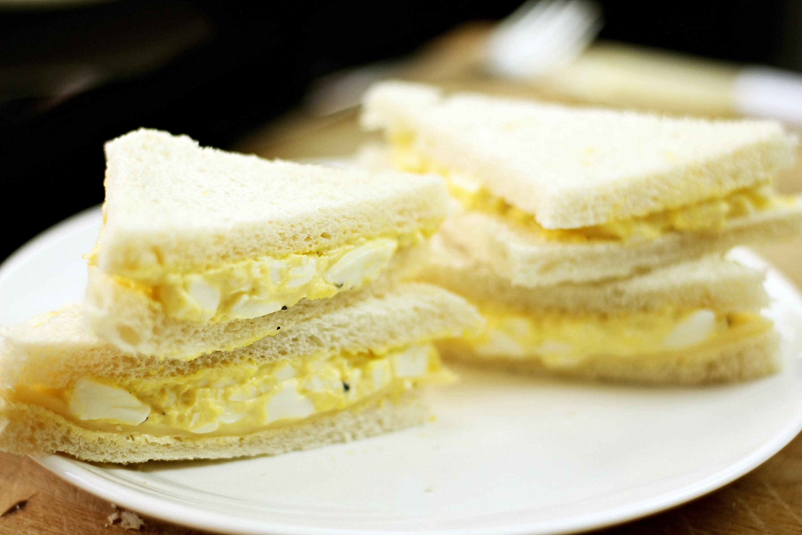 Healthier Egg Mayo Sandwich Thezonghan