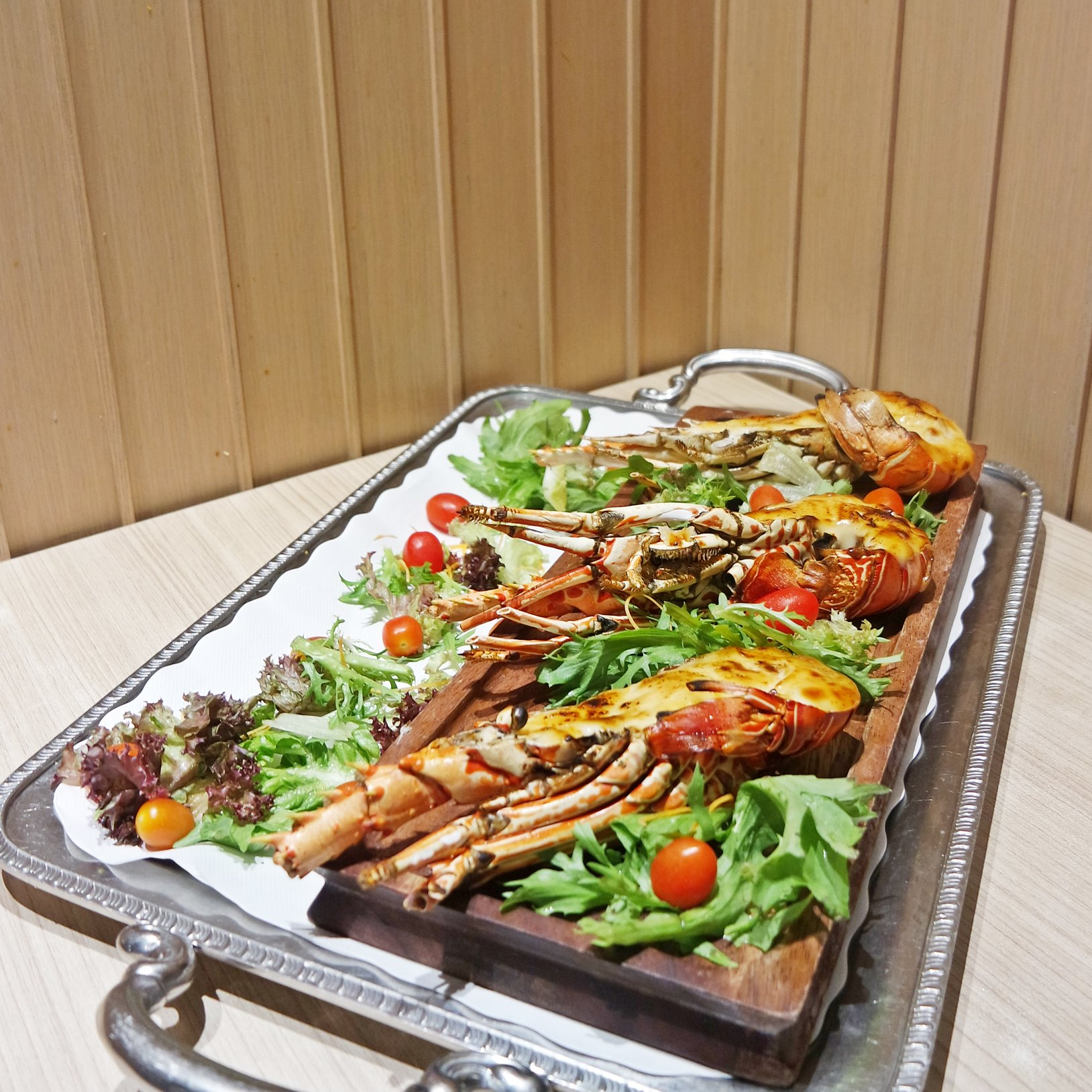 Flame-grilled Lobster Mentaiko