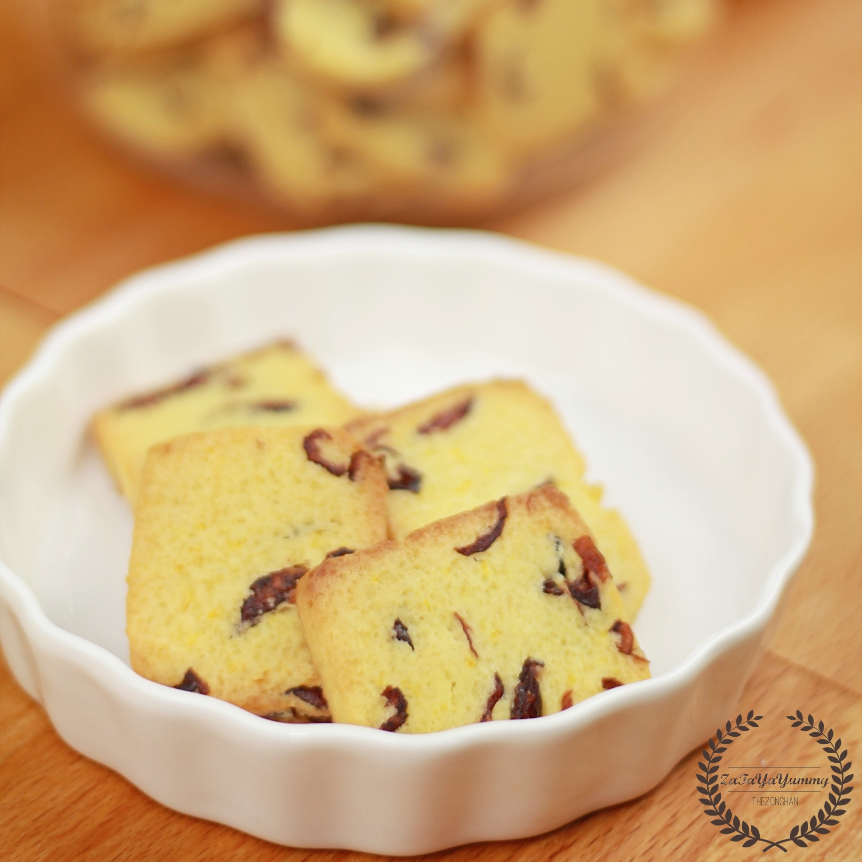 Cranberry Orange Shortbread