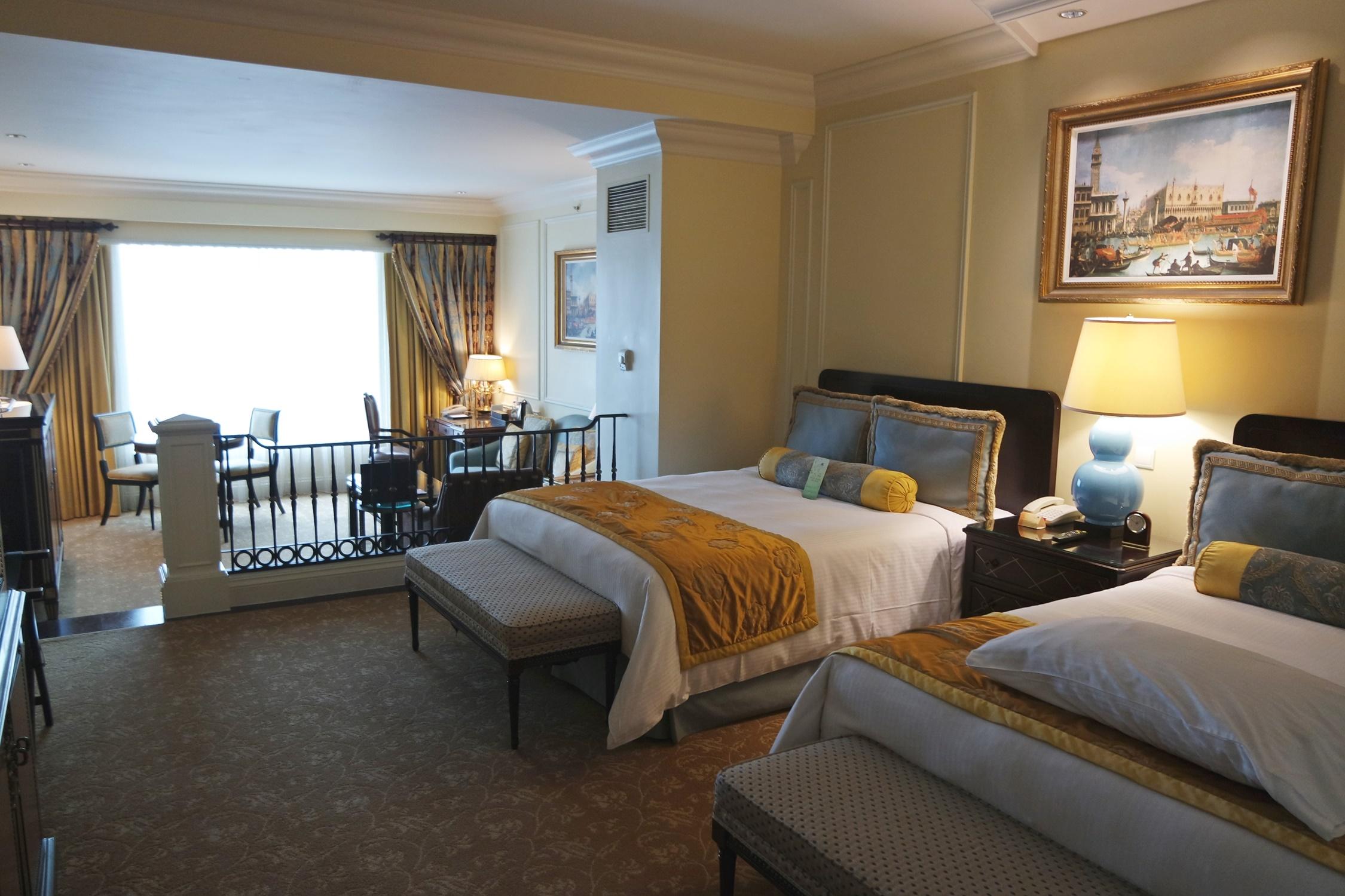 The Venetian Macao Hotel Room