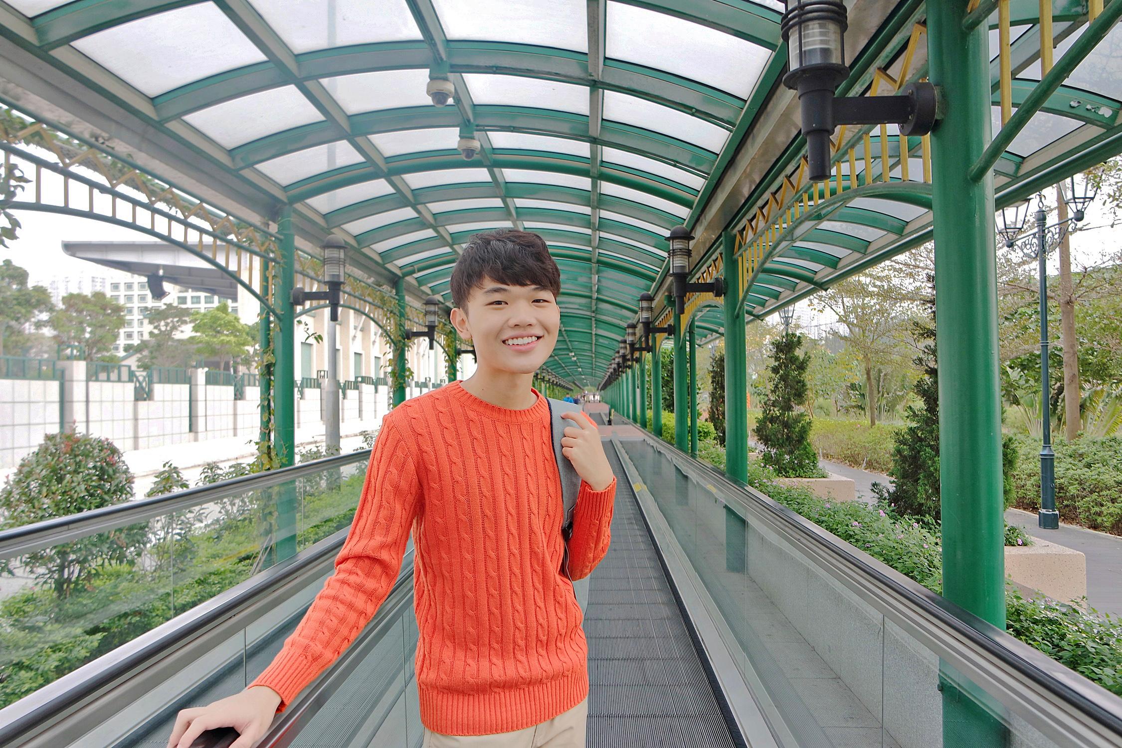 Walkway Travelator from The Venetian to Old Taipa Village