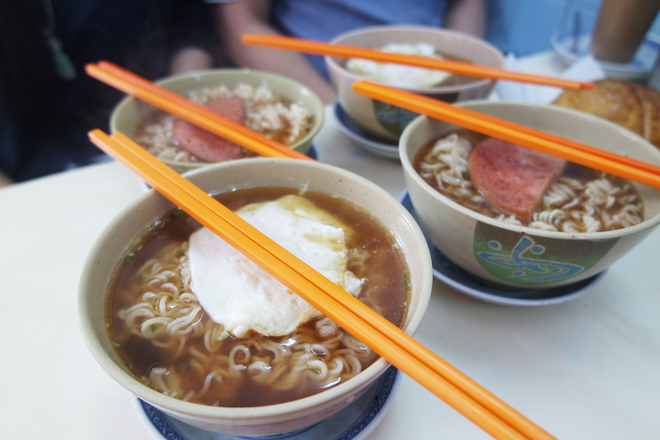 公仔面 Instant Noodles at Cafe Vong Kei