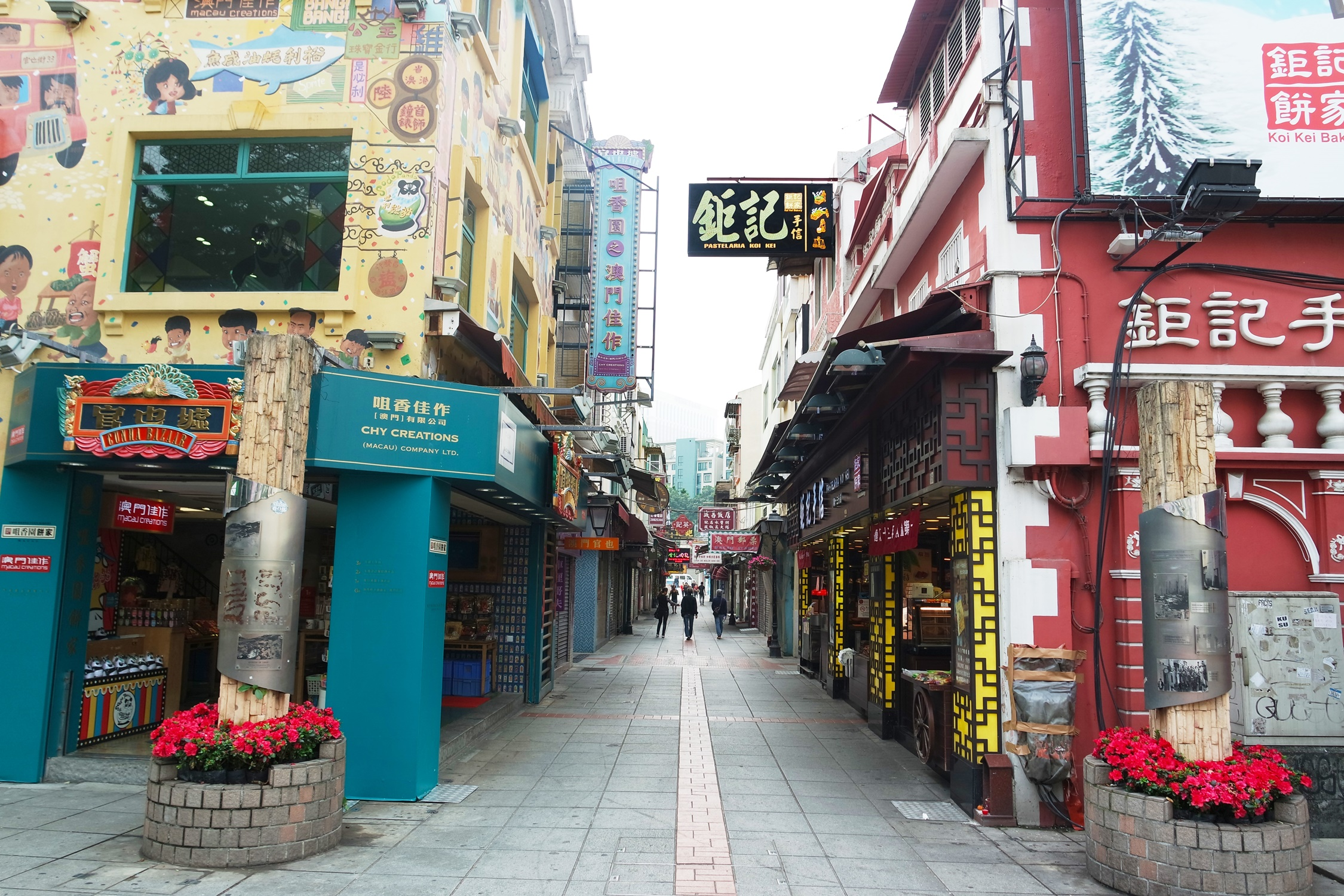 Main Street at Old Taipa Village