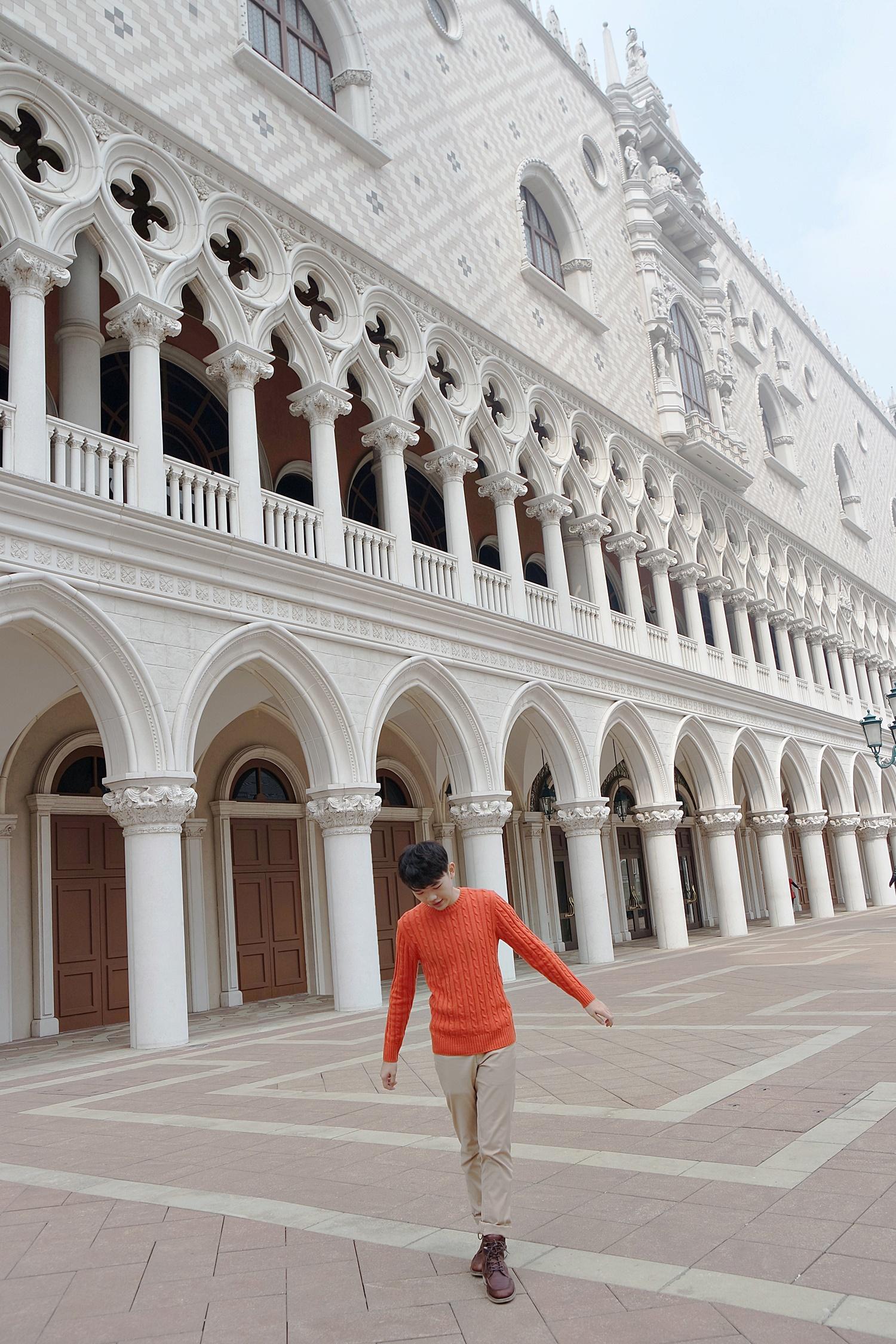 Outside of The Venetian Macao