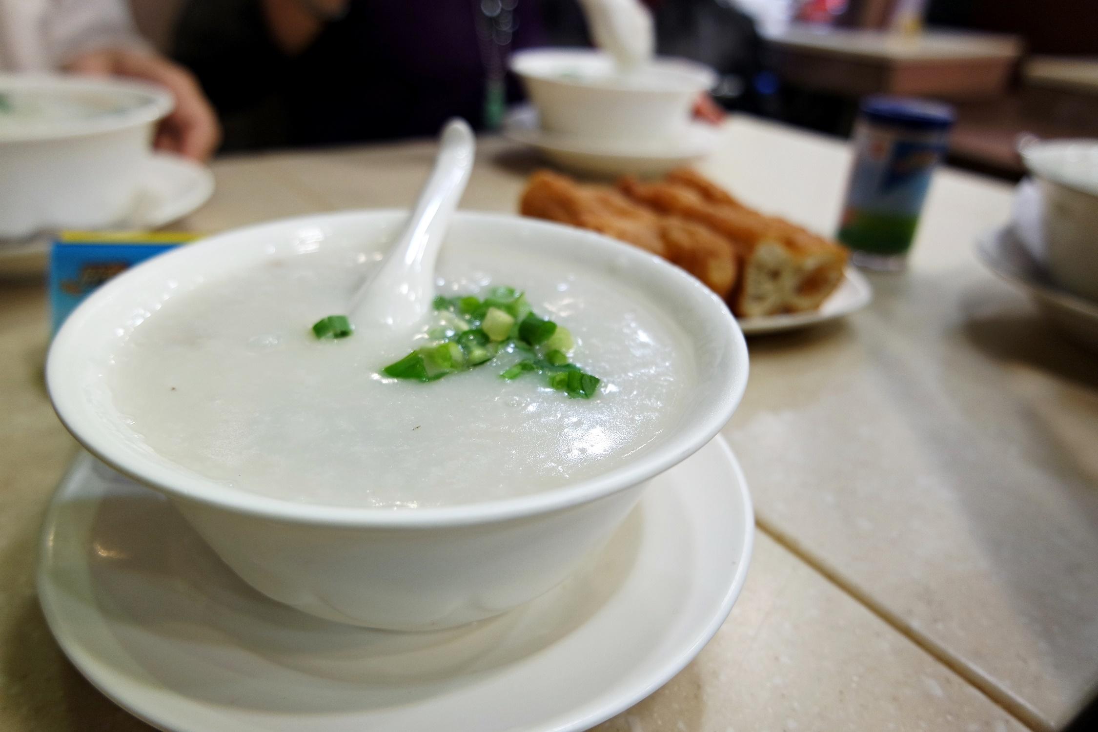 Congee Hung Lee restaurant at Tsim Sha Tsui