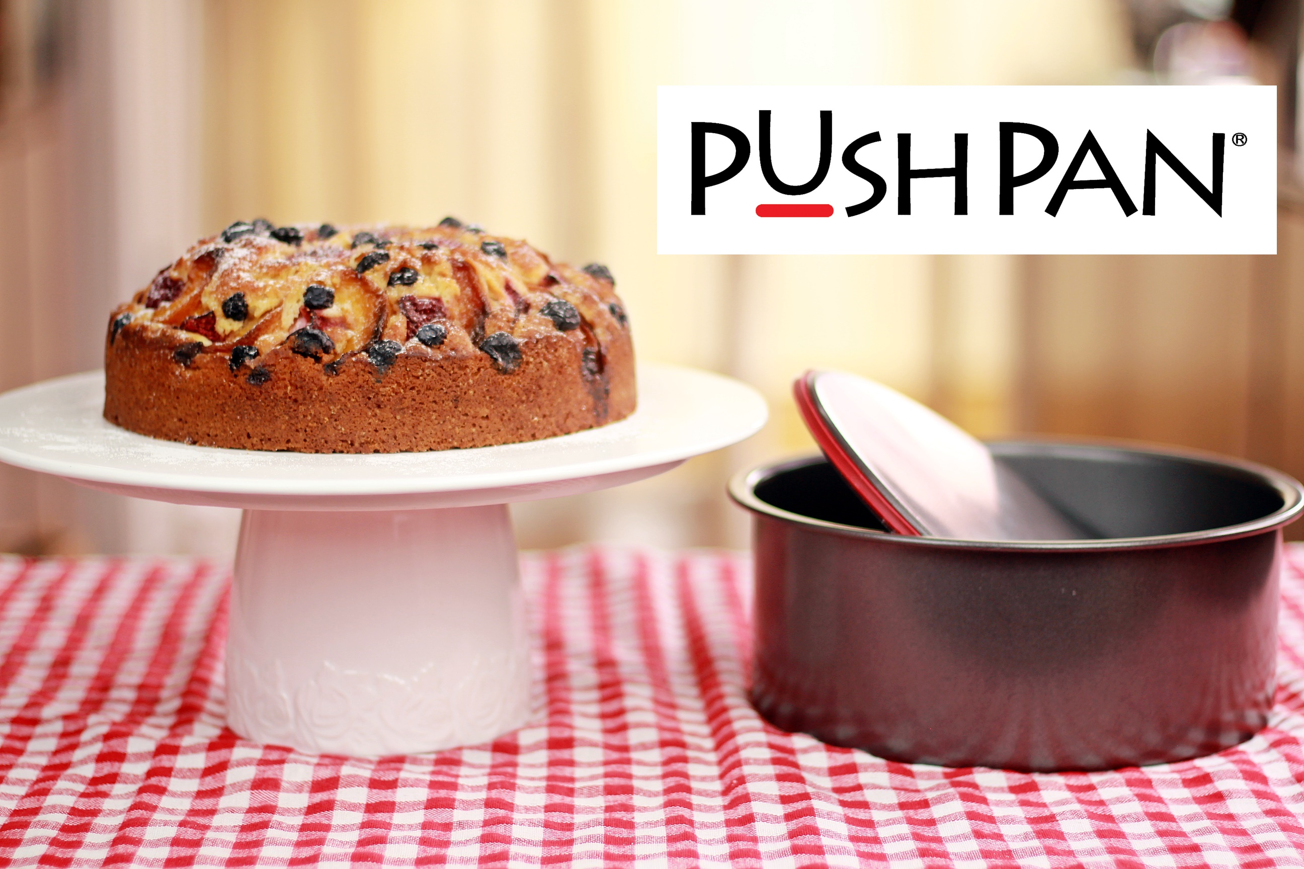 Fruit Pastry Cake with PushPan