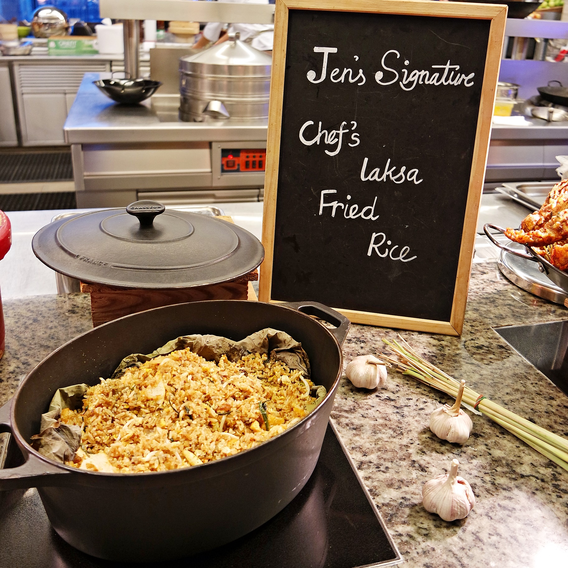 Laska Fried Rice