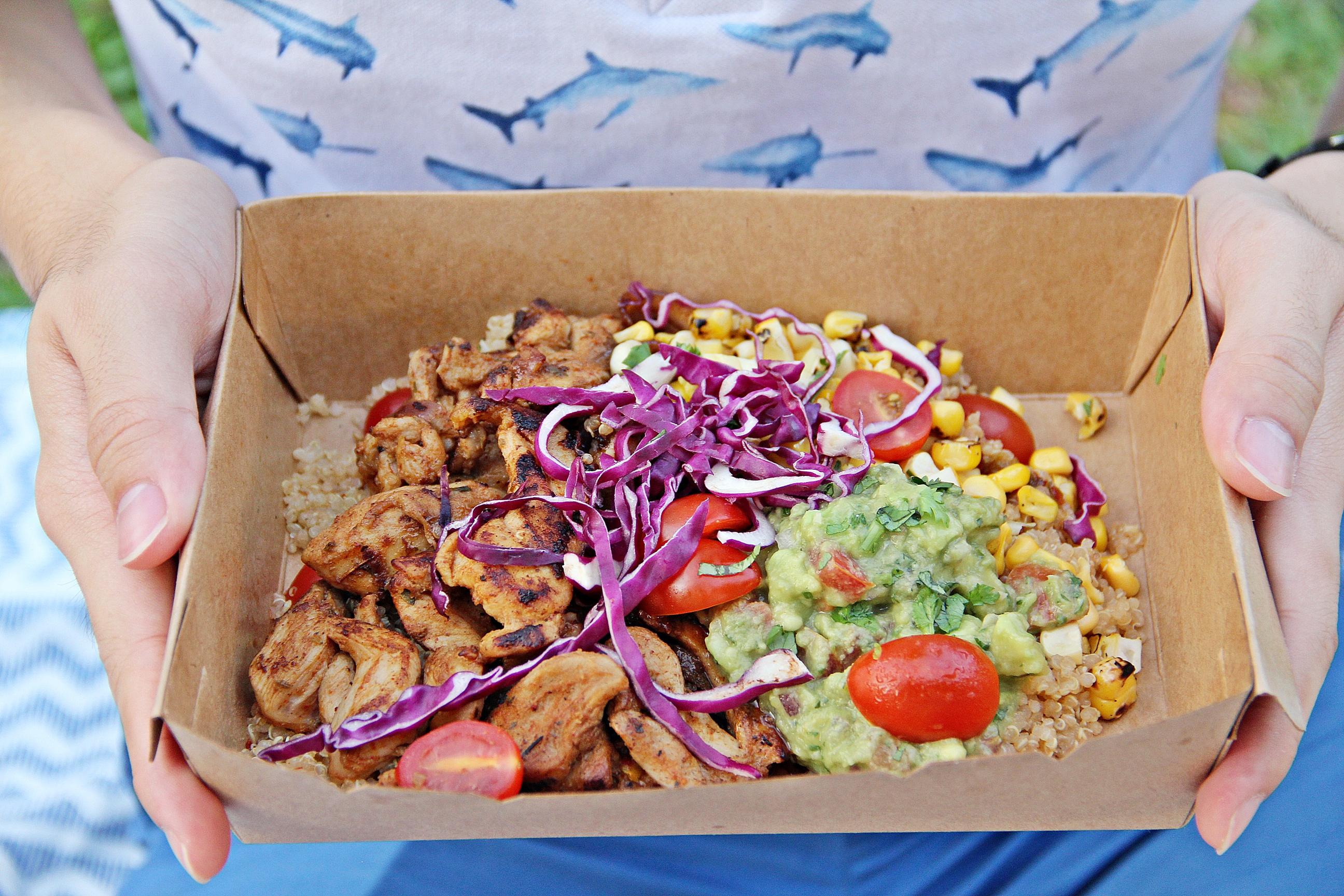 Quinoa Rice Bowl