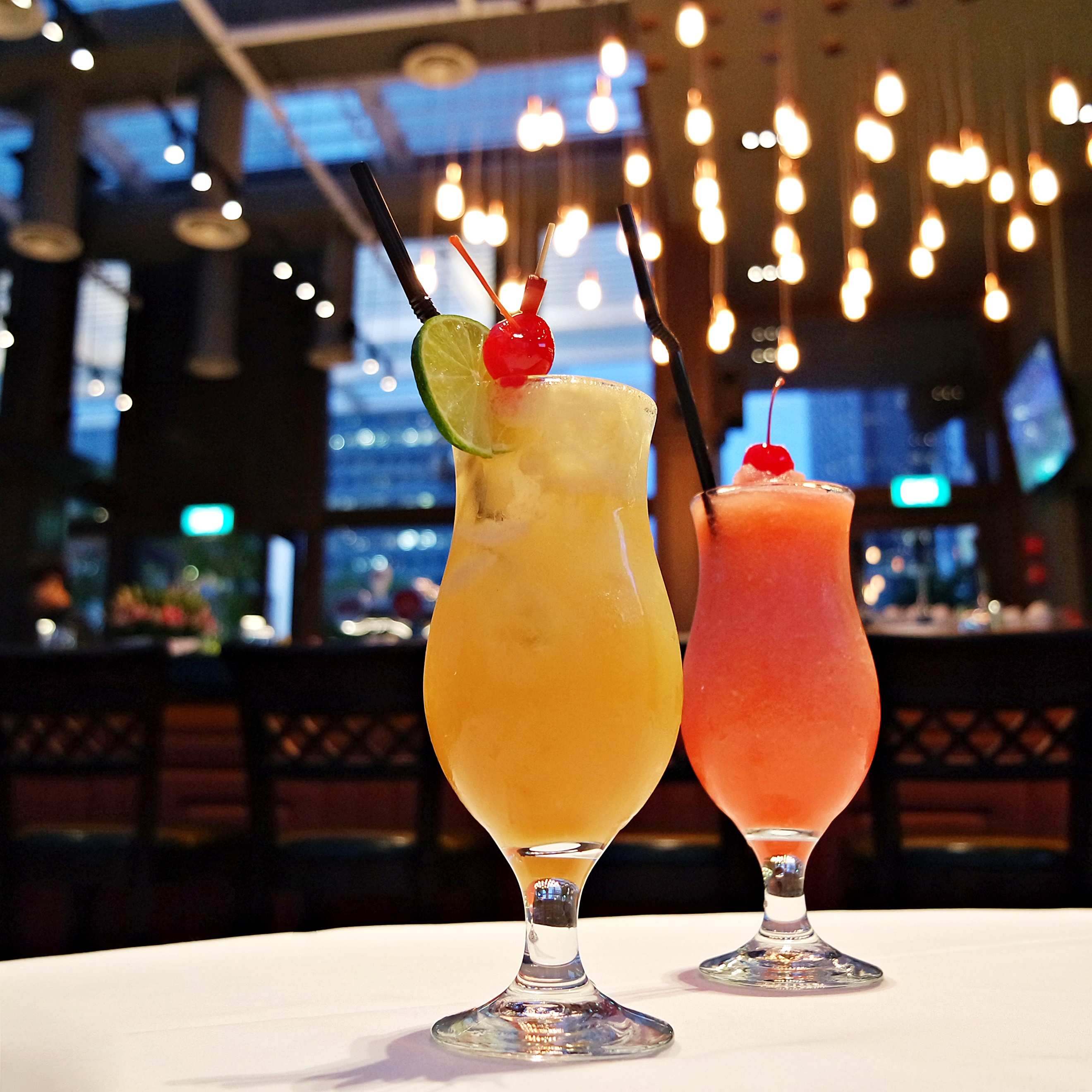 Pineapple Punch and Cherry Peach Cooler