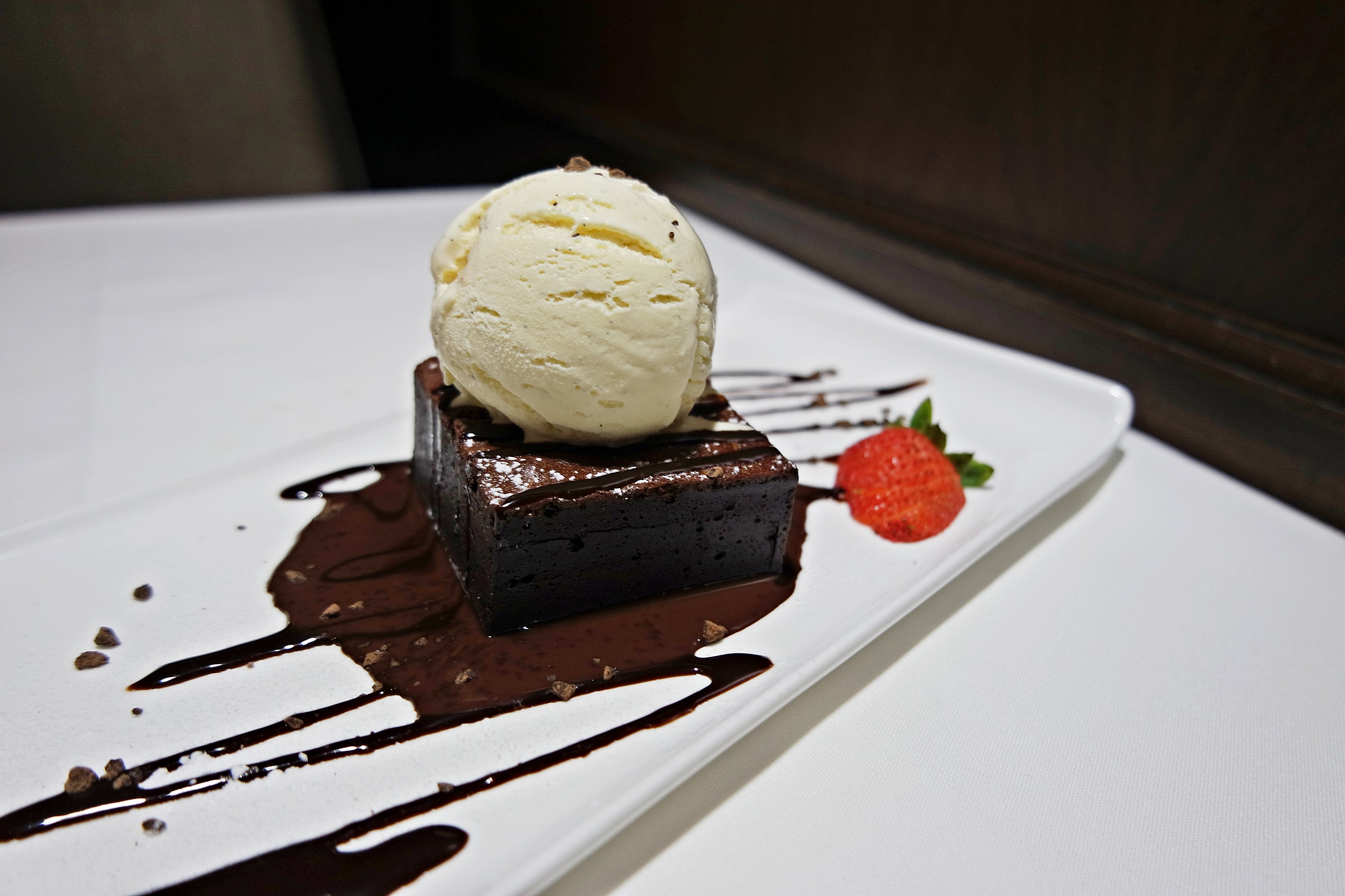 Warm Chocolate Brownie