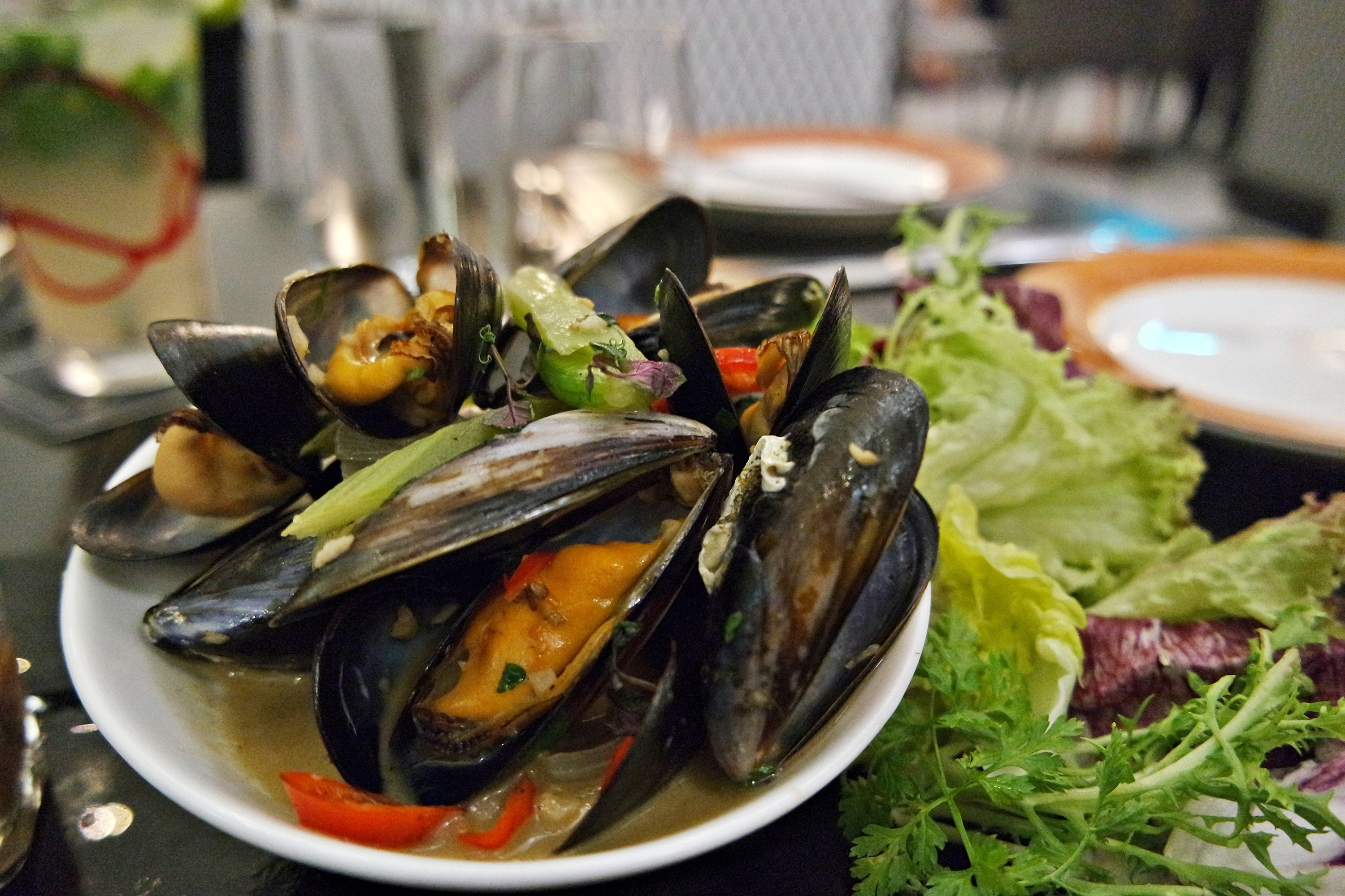 Live Scotland Blue-lipped Mussels