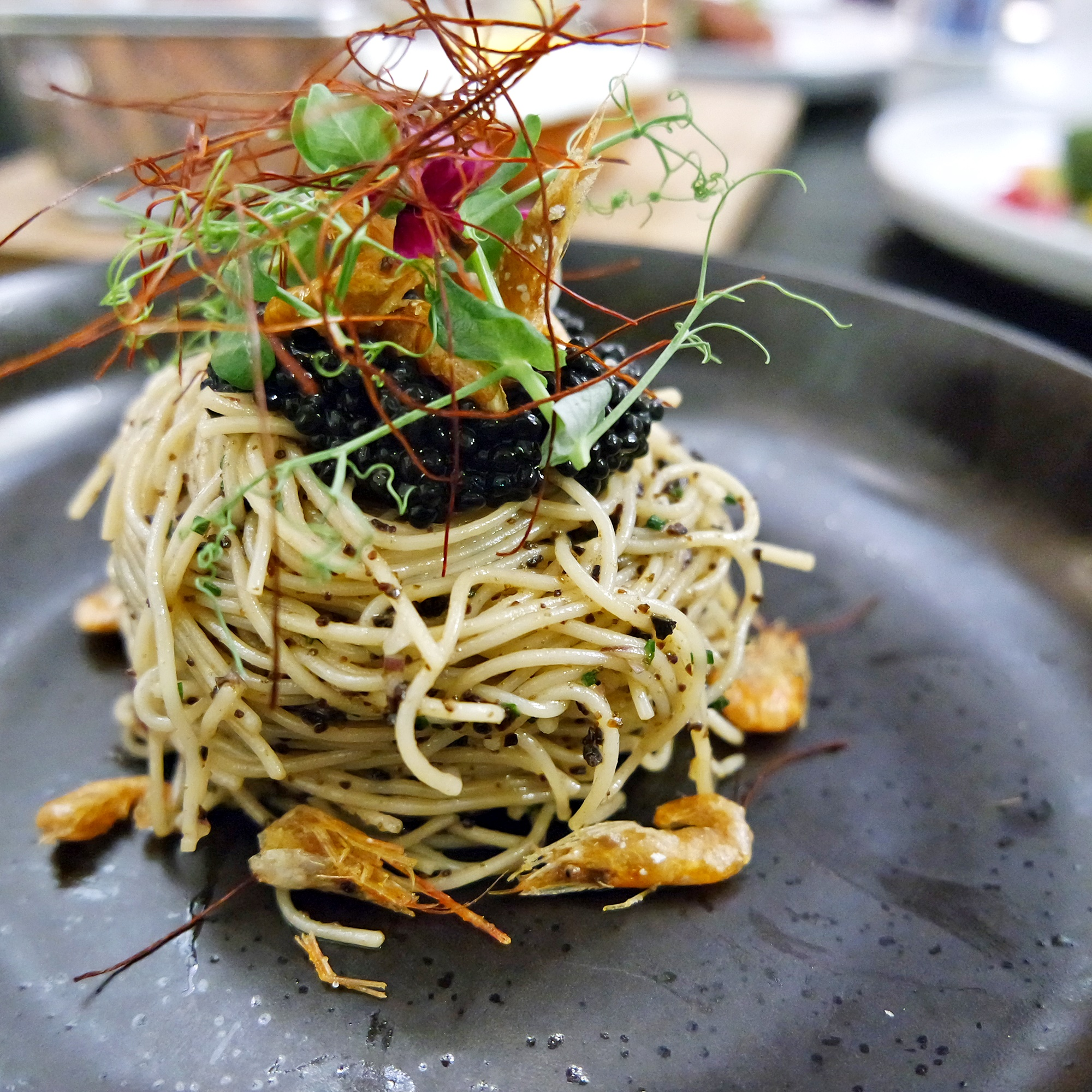 Truffle Angel Hair Pasta