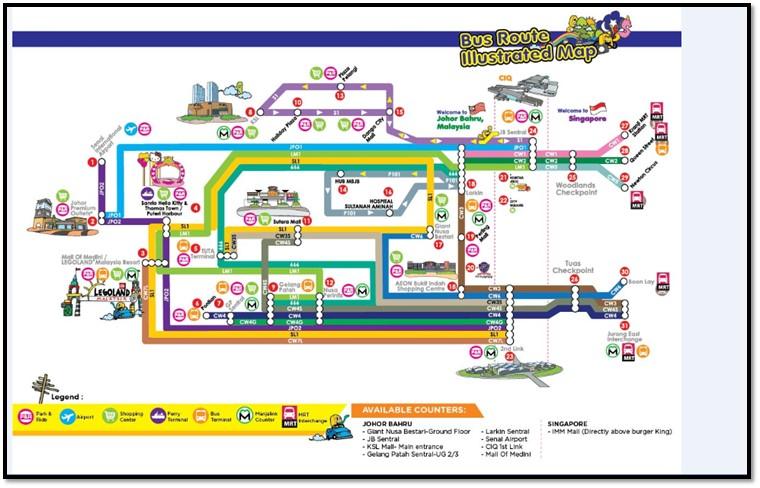 Causeway Link Bus Map