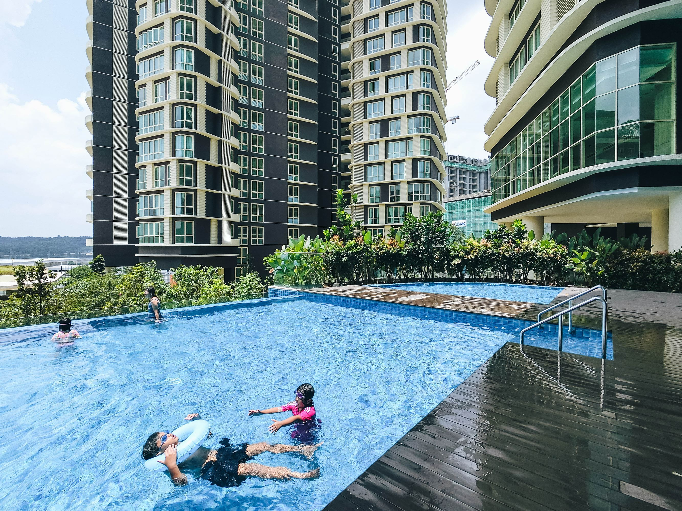Swimming Pool at Somerset Medini Iskandar Puteri
