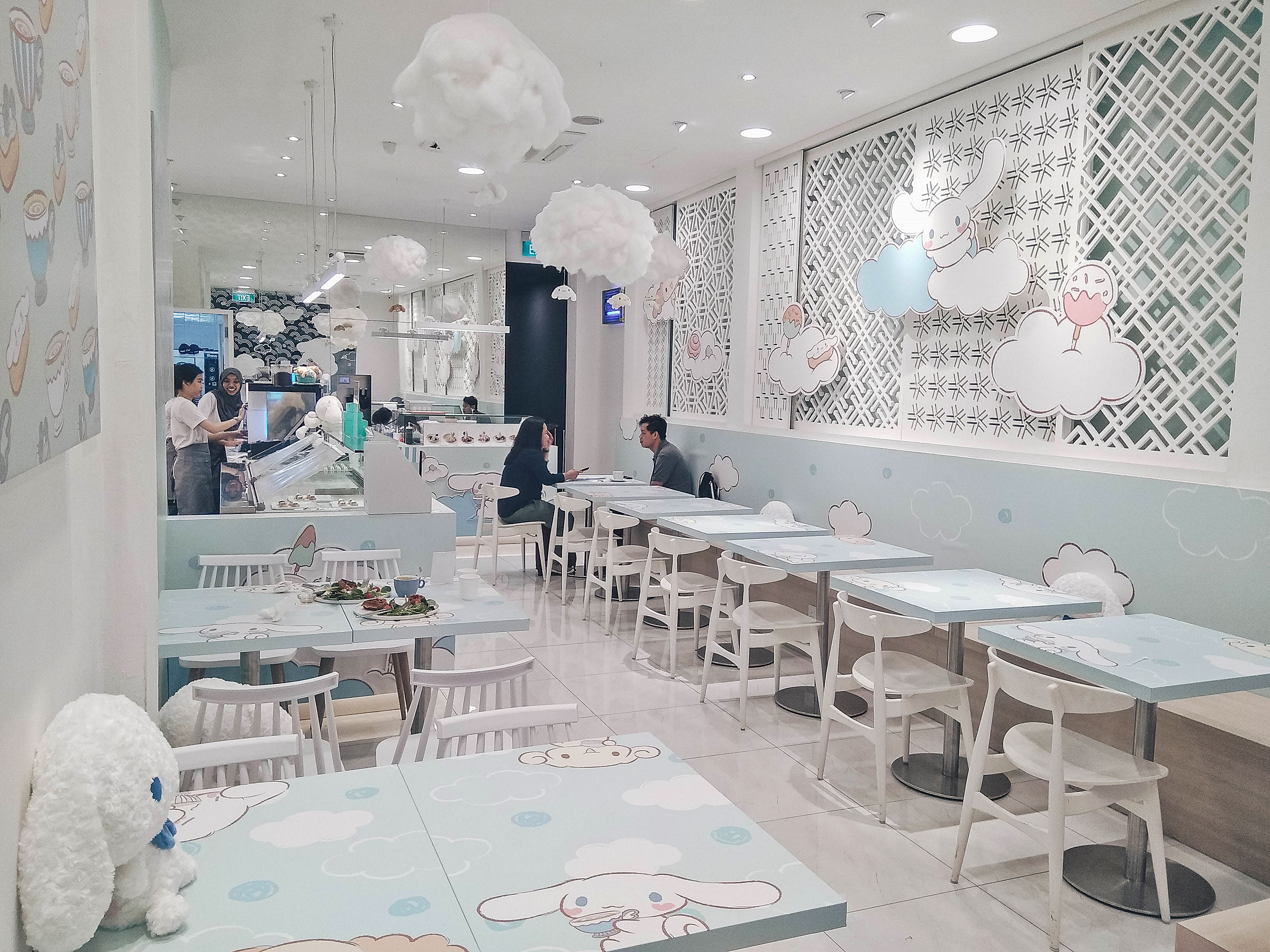 Cute Cinnamoroll Pop Up Cafe - Kumoya