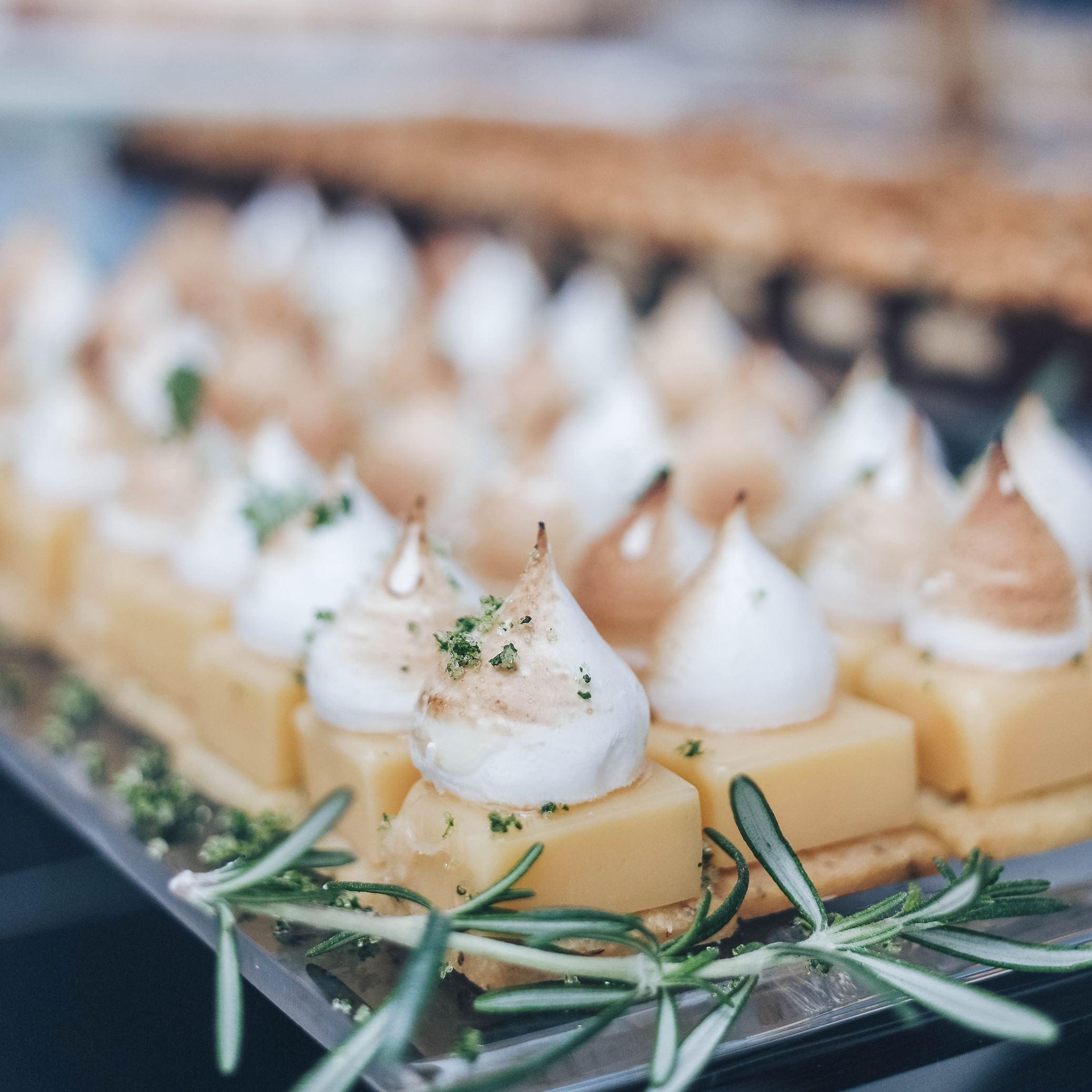 Lemon Rosemary Tartlets