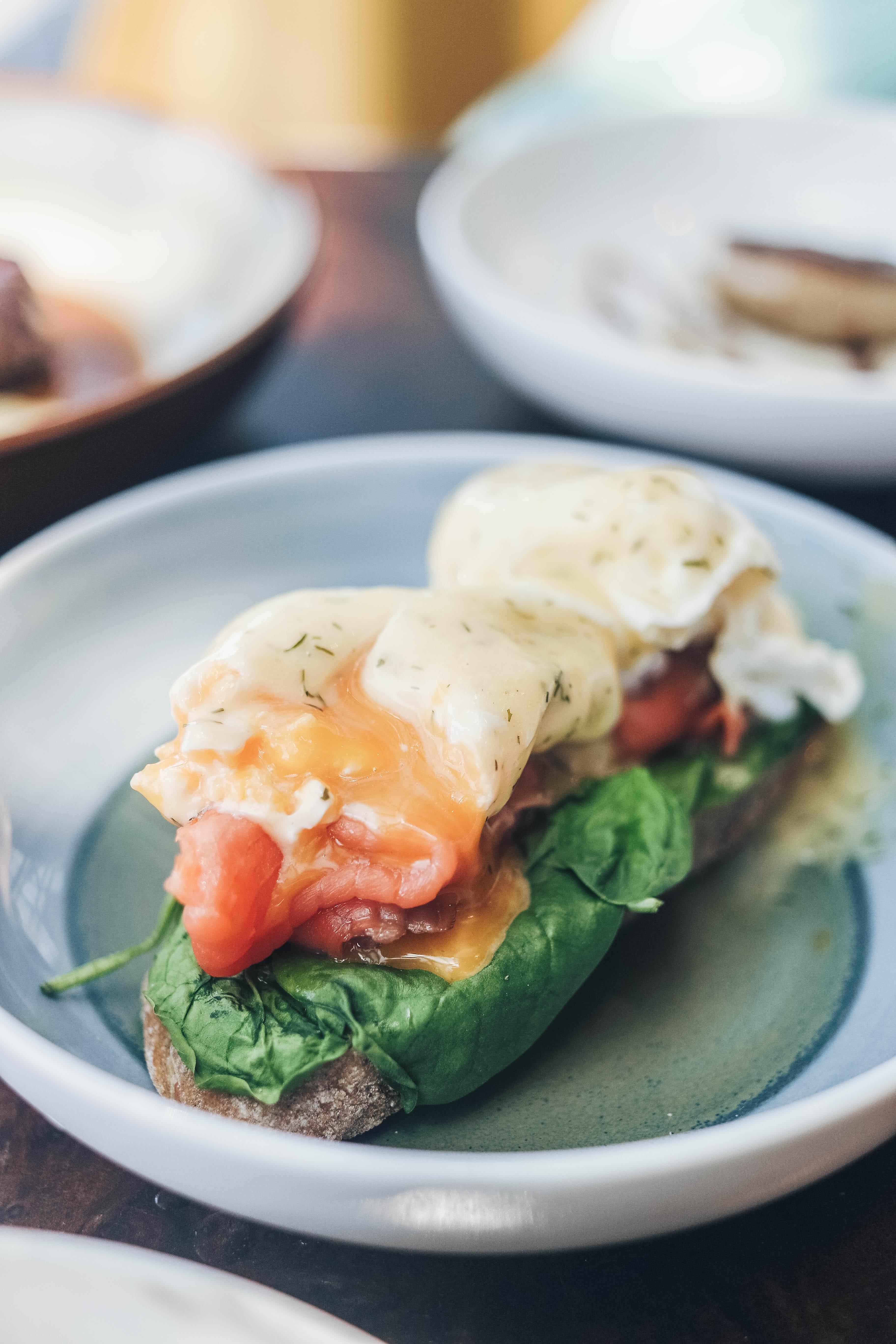 Egg Salmon Florentine - Monti