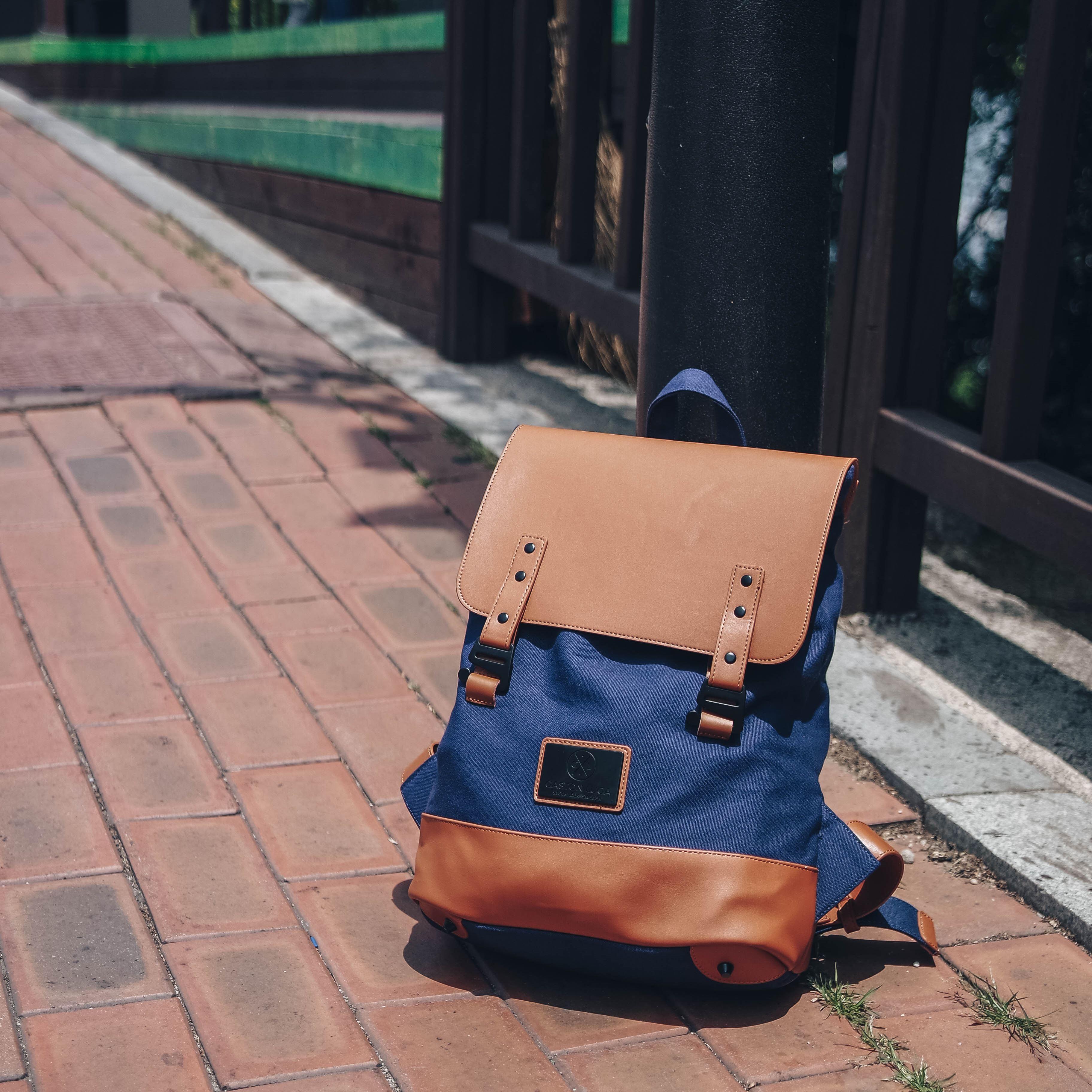 #OOTD - Take me to Seoul with Gaston Luga Backpacks