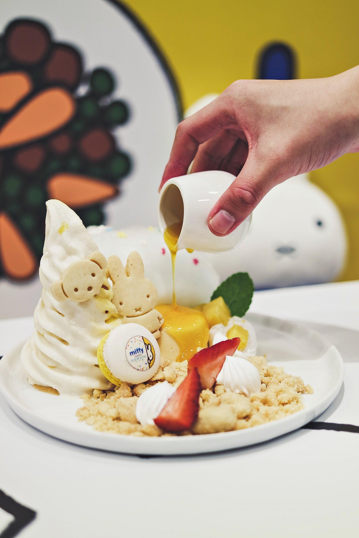 Yuzu Mango Parfait Merriment - Miffy Character Themed Cafe - Kumoya