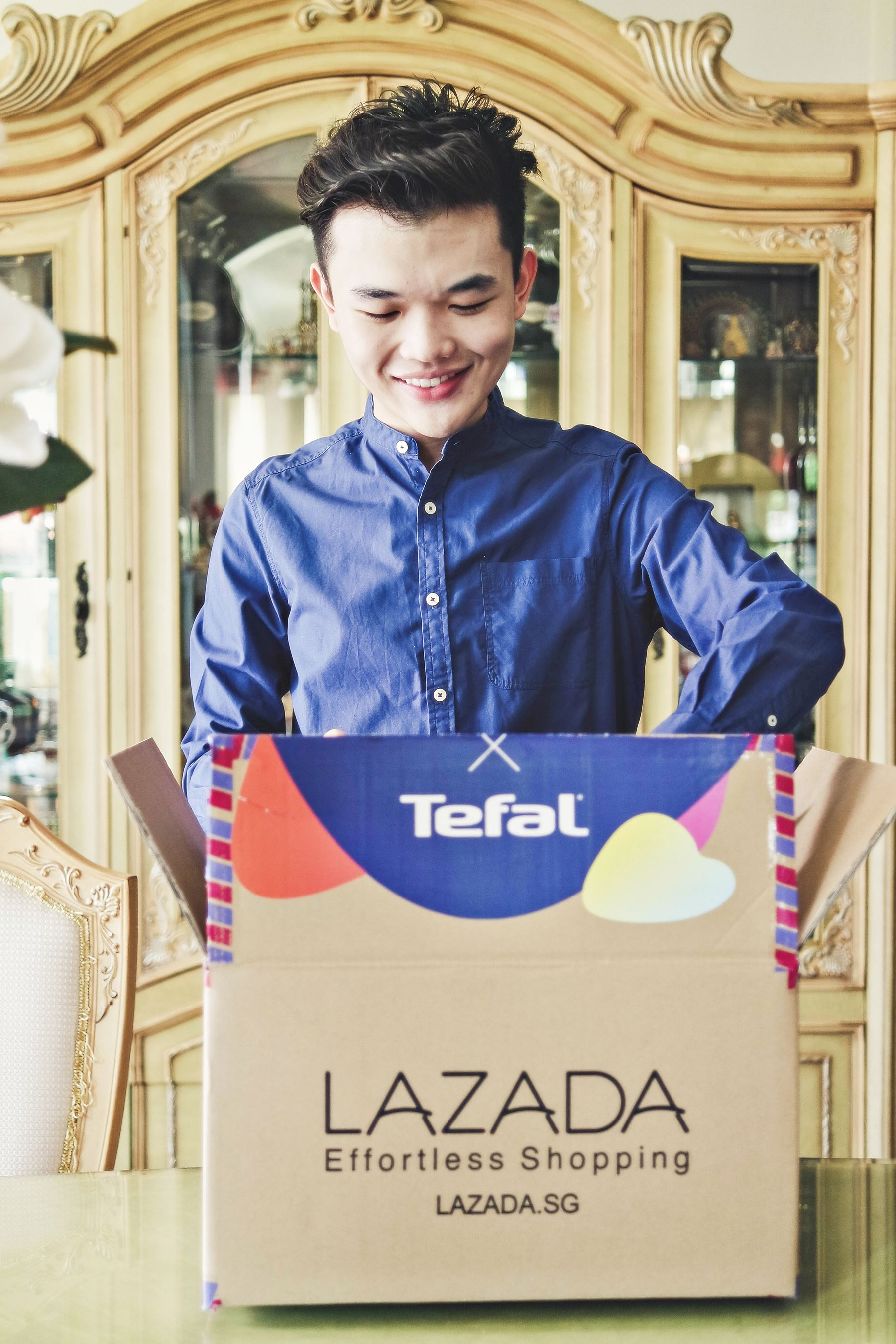 Tefal X Lazada Birthday Festival 2018 Surprise Box