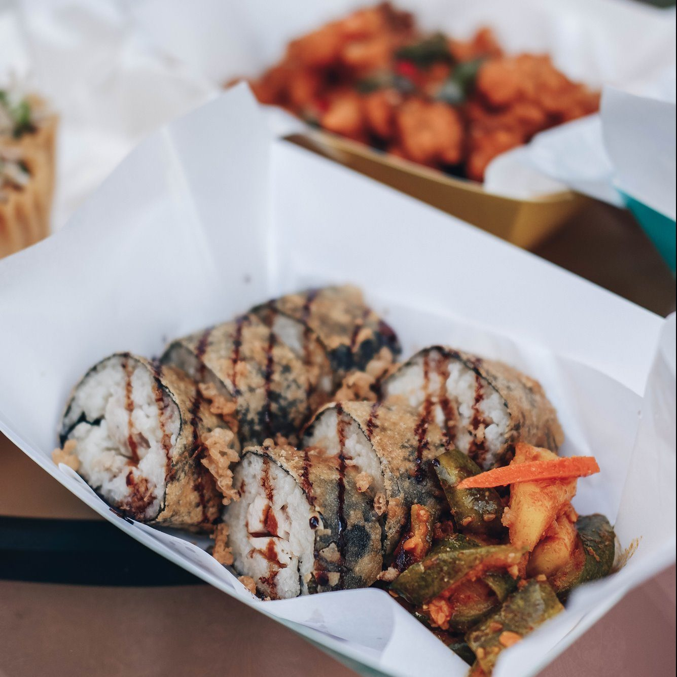 The Chicken's Rollin' - Bugis Café - Outdoor Beers and Delights @ Studio M Hotel Singapore