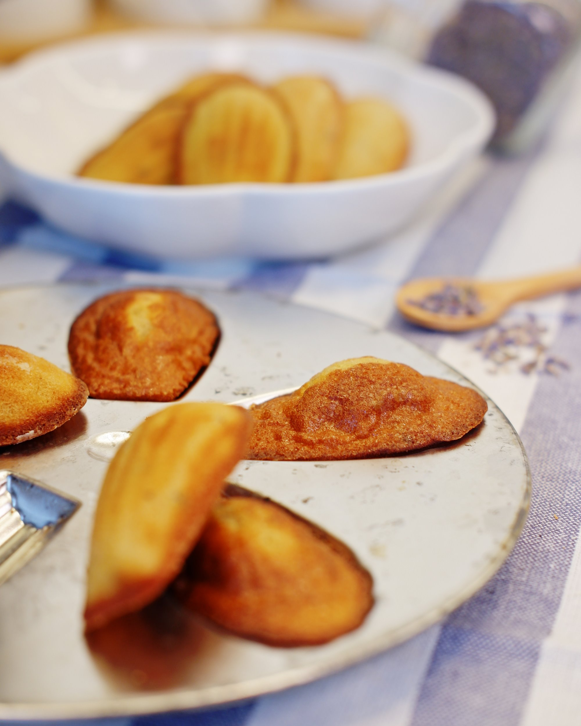 Lavender Madeleines with Panasonic Cubie Oven