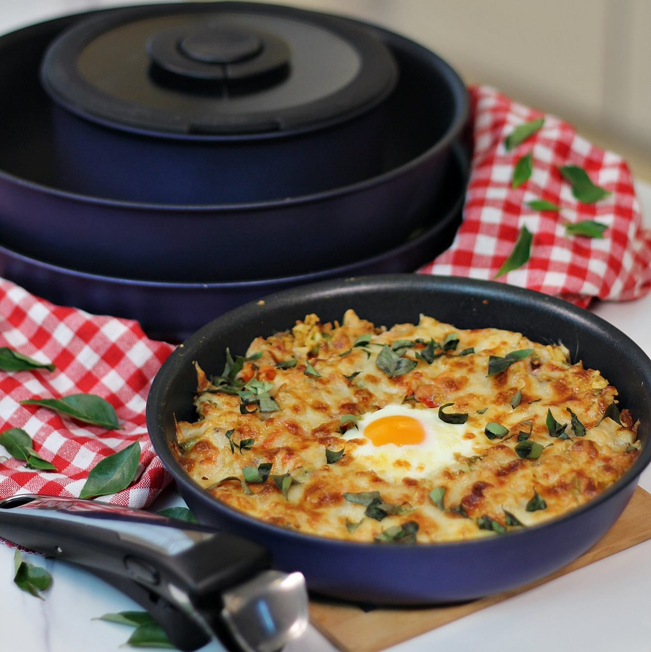 Curry Baked Rice with Tefal Ingenio