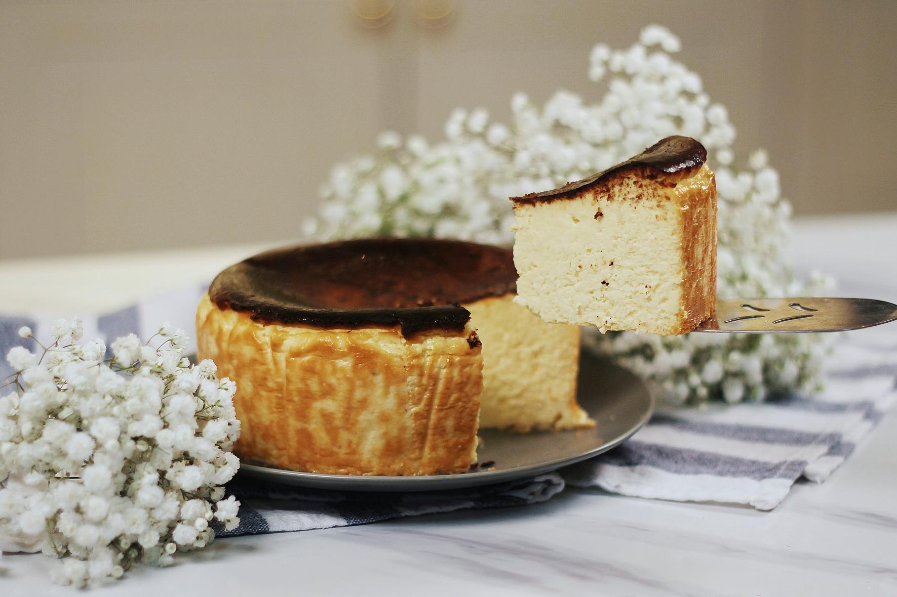 Burnt Cheesecake Recipe
