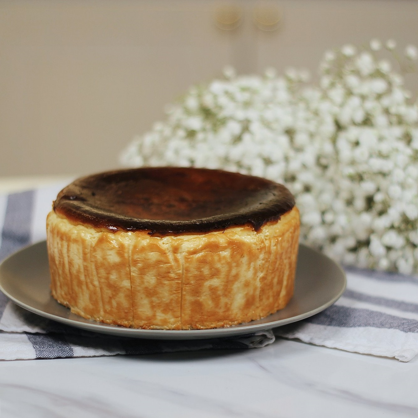 Burnt Cheesecake Recipe