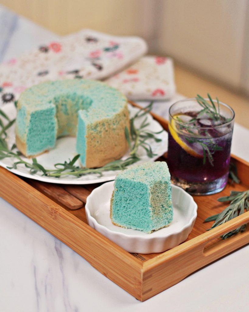 Butterfly Pea Flower Chiffon Cake – 蝶豆花戚风蛋糕