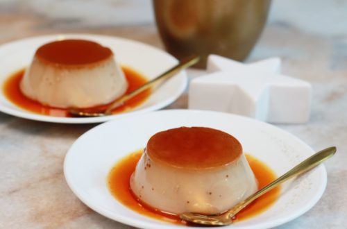 Earl Grey Custard Pudding (No Oven) - Mother's Day Recipe