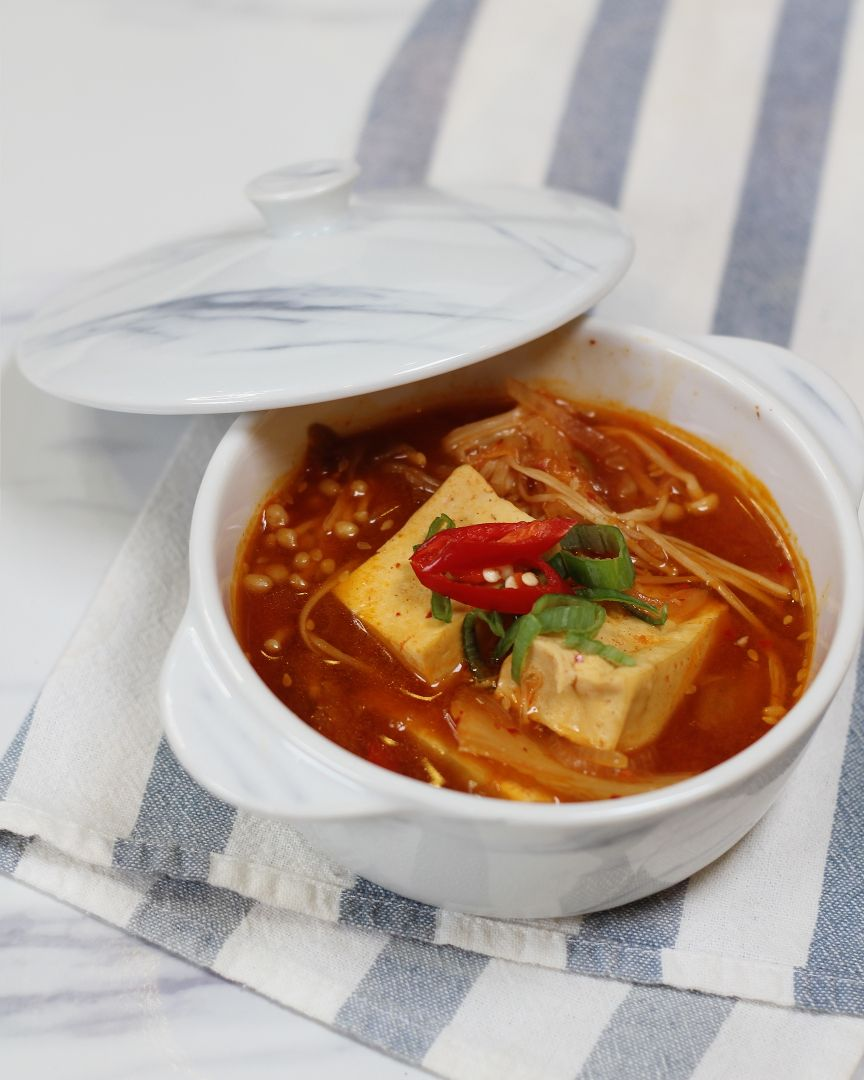 Kimchi Stew - 4 Simple Rice Cooker Recipes with Tefal Xpress IH Rice Cooker