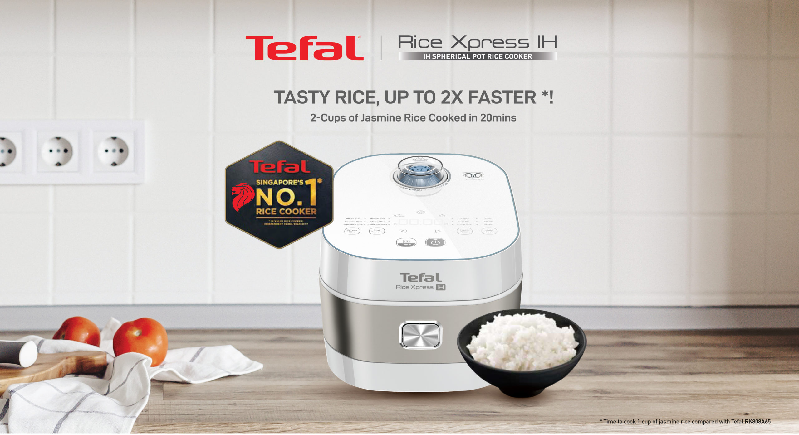4 Simple Rice Cooker Recipes with Tefal Xpress IH Rice Cooker